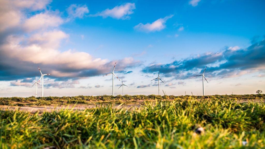 Windenergie Farm